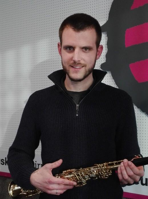 Alberto Arteta saxofoi jotzaile garestarraren lan berriaren aurkezpena Zentralen