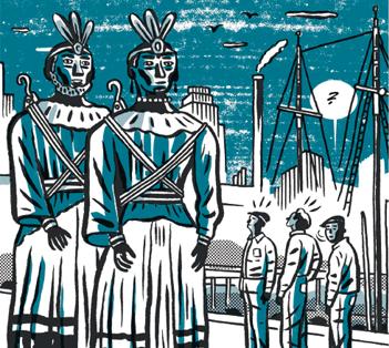 Iruñeko erraldoi amerikarrak, 'Black is Beltza' eleberri grafikoko protagonista