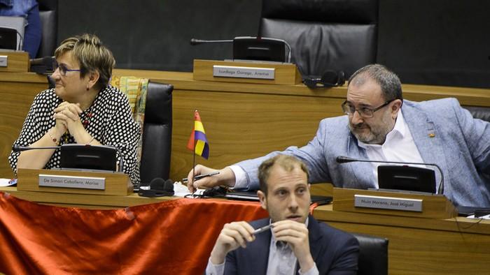 Parlamentuan Errepublikako bandera jartzeko akordioa, baliogabetuta