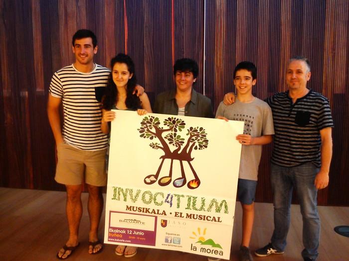 'Invoc4tium' musikala aurkeztuko du Jaso ikastolak Baluarten