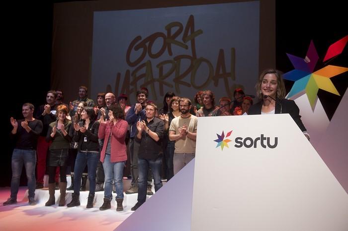 """Miren Zabaleta: """"Euskal Errepublikaren bidean Nafarroaren burujabetza prozesua sustatzeko konpromisoa dugu"""""""