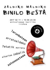 Binilo Besta Zaldiko Maldikon