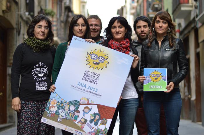 Euskal eskola publikoaren jaia maiatzaren 17an, Sarrigurenen