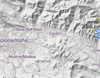 Lizoain Arriasgoitin eta Eguesibarren 600 lurrikara baino gehiago erregistratu dituzte abuztutik