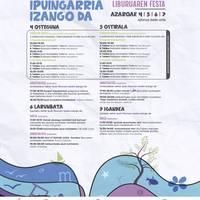AZOKA: Ipuingarria Izango da - Liburuaren festa