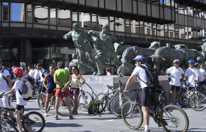 '30 hiria' izanen da Iruñea mugikortasun ordenantza aprobatuta