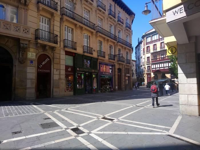 Alde Zaharreko trafikoa berrantolatu du Iruñeko Udalak