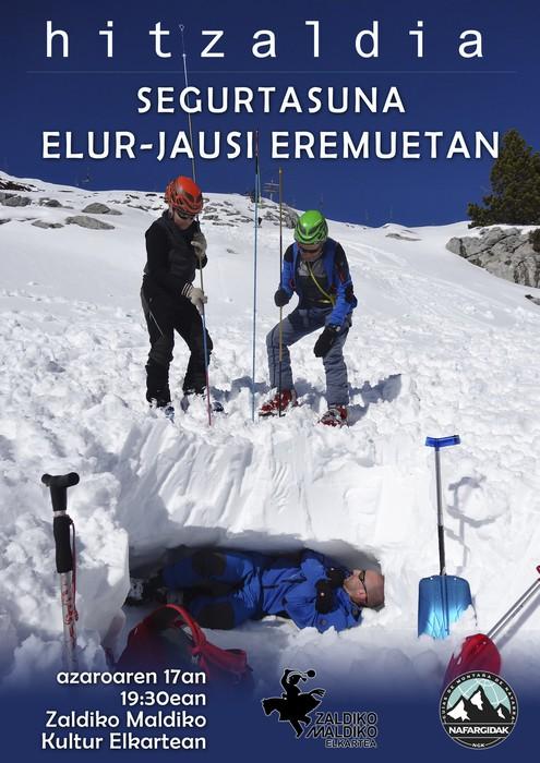 """Gaur Zaldikon: """"Elurra eta segurtasuna"""""""