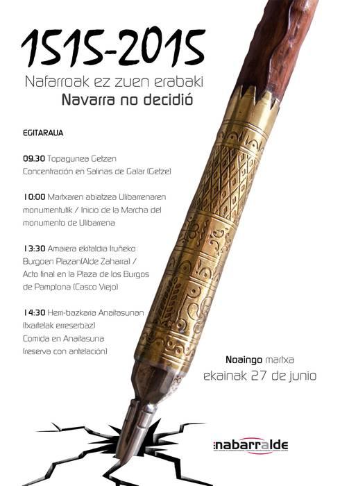 NOAINGO MARTXA: NAFARROAK EZ ZUEN ERABAKI!