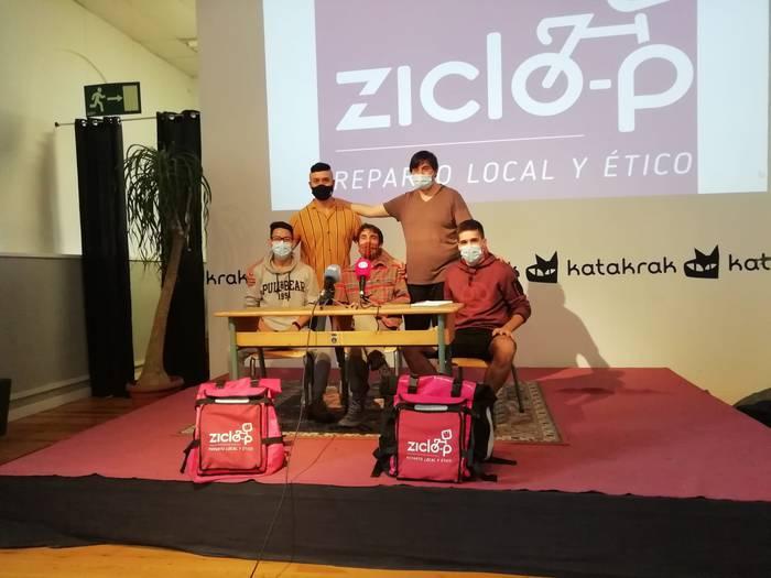 Banatzaileen sektorea profesionalizatzeko Ziclo-P sortu dute Iruñerrian