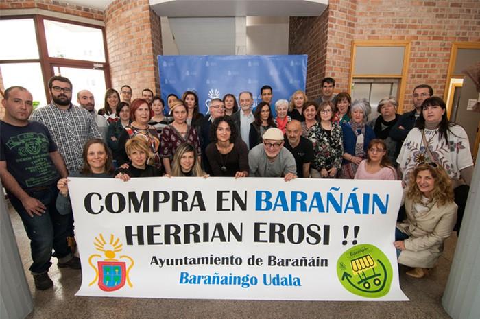 Herriko merkataritza sustatzeko kanpaina Barañainen