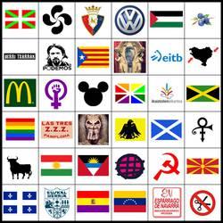 Ikurren Lege berriak 366 bandera eta ikur legeztatuko ditu