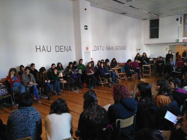 Tailer feministak Barañainen, asteburuan