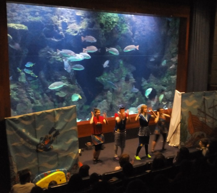 Oneka, Donostiako Aquariumeko marko konparaezinean