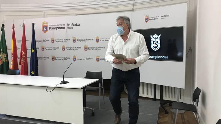"""Joseba Asiron: """"Hausnarketa eskatzen du Sarasate pasealekuak, hori lortzeko lan eginen dugu"""""""