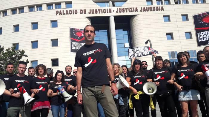 Desobedientzia iragarri du Imanol Salinas sindikalistak