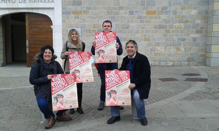 Hezkuntzako gehiengo sindikalak bat egin du larunbateko manifestazioarekin