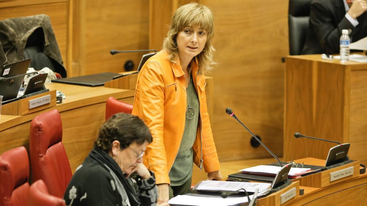 Euskara eztabaida politikotik ateratzeko asmoa erakutsi du Ana Ollok