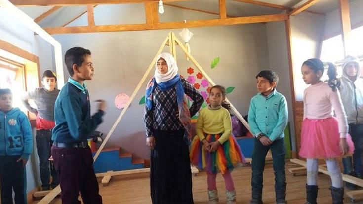 Siriar errefuxiatuei buruzko 'Zuri Madame' dokumentala emanen dute astelehenean, Kondestablen