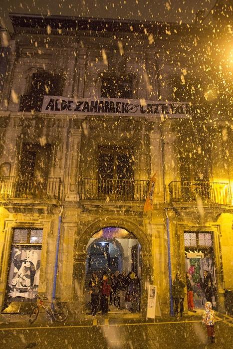 'Maravillas' deitzen da Iruñeko Alde Zaharreko gaztetxea - 2
