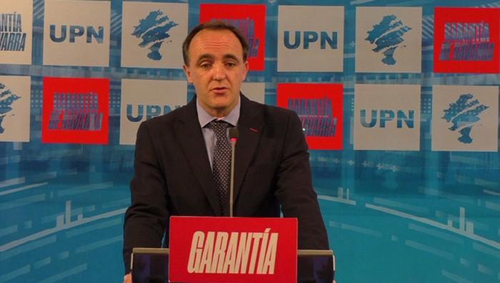 Javier Esparza da UPNren presidente berria
