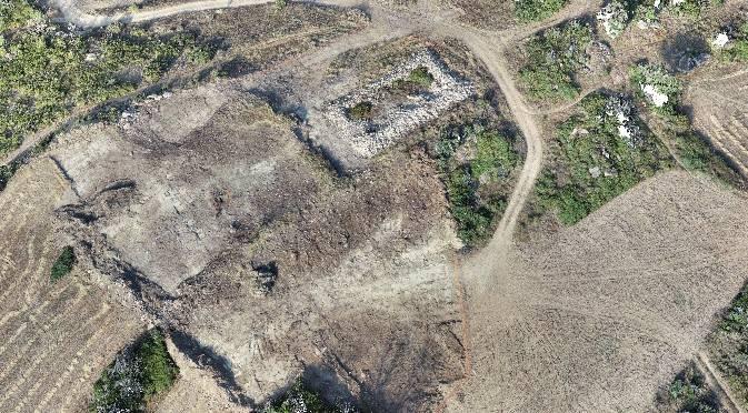 Tafallan AHTren lanetan Burdin Aroko aztarna arkeologikoak aurkitu dituzte