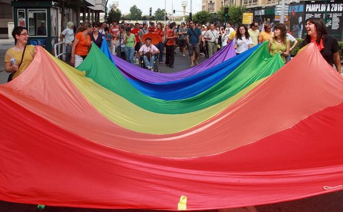 Homofobia, lesbofobia eta transfobiaren aurka, martxan