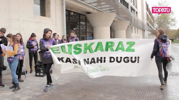 Noizko erizaintza gradua euskaraz?