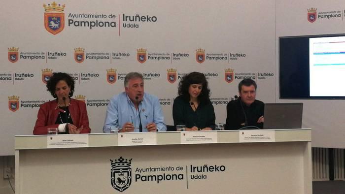 Iruñeko Udalak 9,7 milioi euro bideratuko ditu auzoetarako, mugikortasunerako, etxebizitzak eraberritzeko eta azpiegiturak hobetzeko