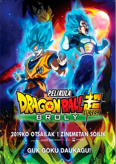 """Dragon Ball Superbroly"" euskarazko pelikula, Golem La Morean"