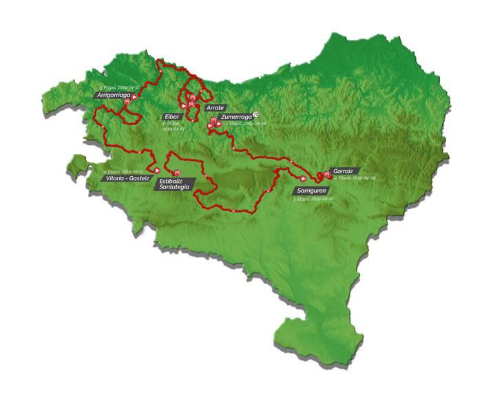 Nafarroatik igaroko da Euskal Herriko Itzulia, bigarren eta hirugarren egunean