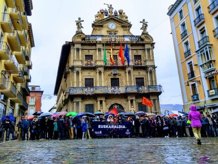 90.000 euroko dirulaguntzak Iruñean euskara sustatzeko