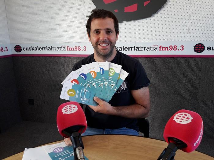"""Aritz Ayesa: """"Billabesei xarma falta zaie; hiri garraioa erakargarri egin nahi dugu"""""""