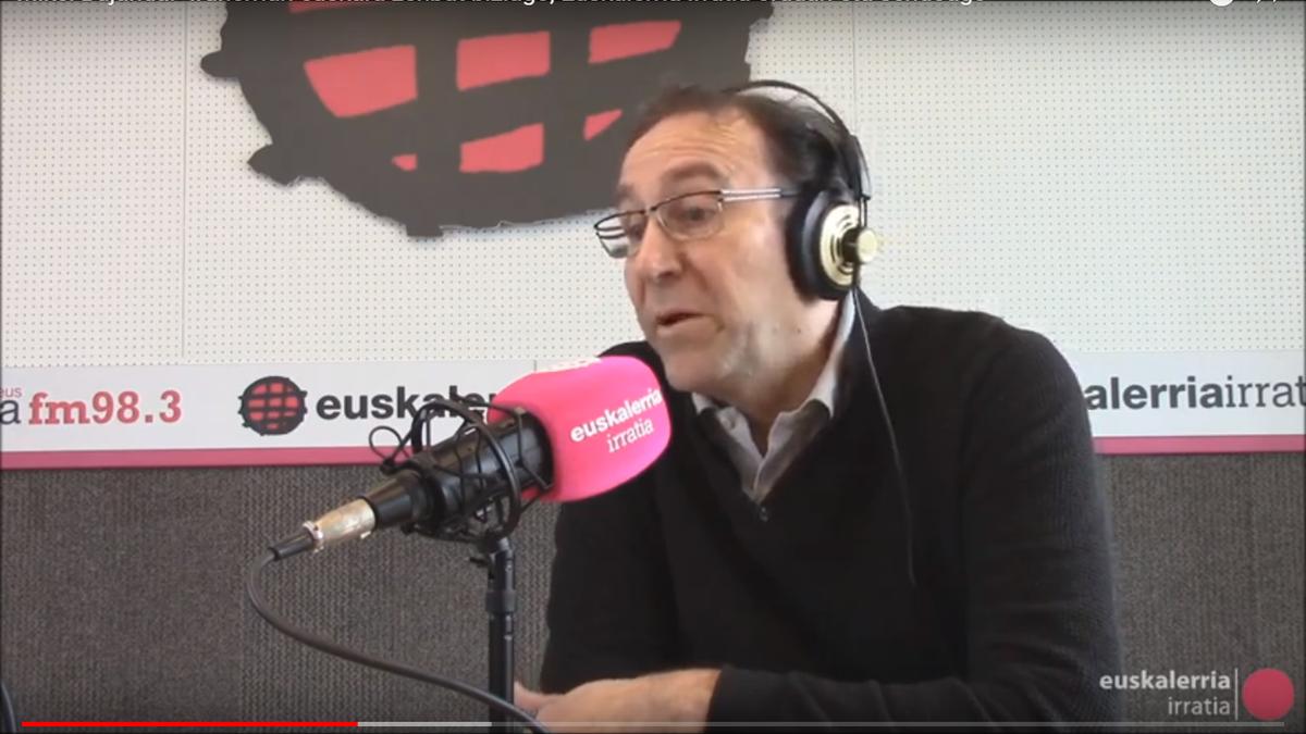 """Mikel Bujanda: """"Iruñerrian euskara zenbat eta biziago, Euskalerria Irratia orduan eta sendoago"""""""