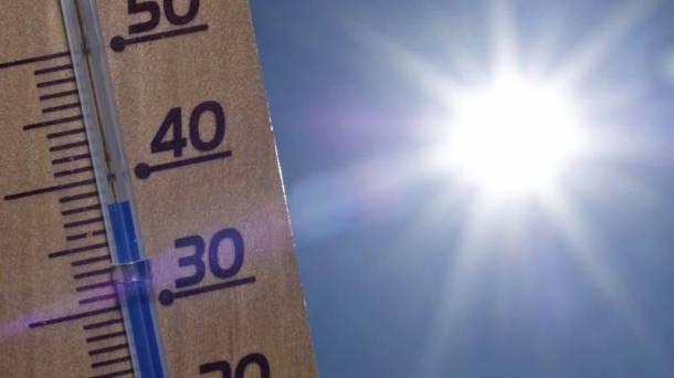 40 gradu inguruko tenperaturak iragarri dituzte