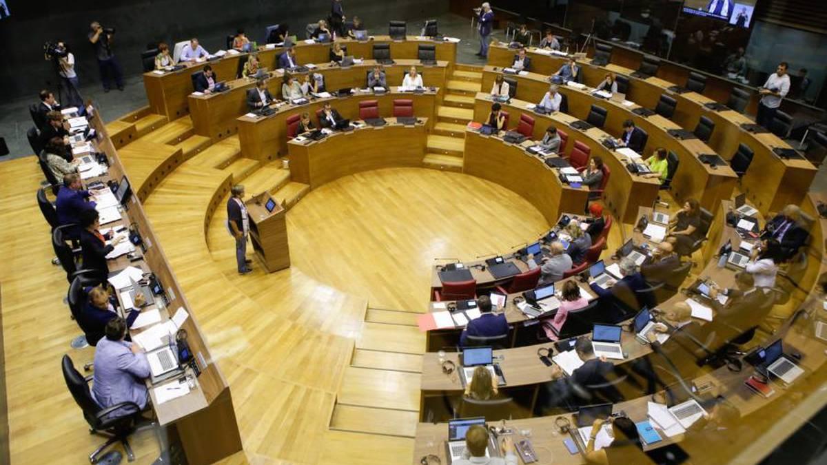 Bihar eztabaidatuko dituzte aurrekontuak Nafarroako Parlamentuan