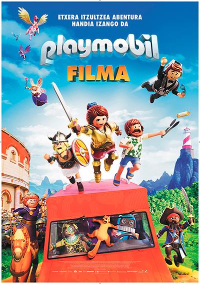 """Playmobil filma"" euskarazko pelikula, Golem La Morean."