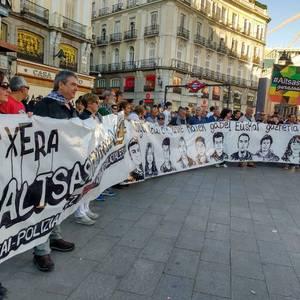 Altsasuko gazteek kartzelan sei hilabete: babesa adierazteko mobilizazioak egin dituzte Madrilen