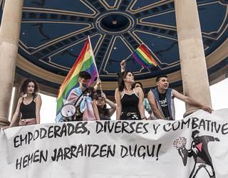 LGTBI kolektiboaren aurkako erasoei erantzuteko Iruñeko Udalaren protokoloari buruzko jardunaldia