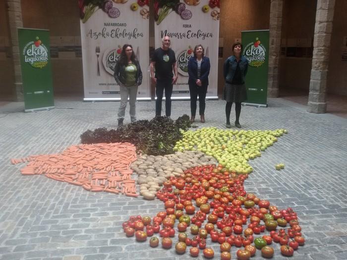 'Nafarroako Azoka Ekologikoa' eginen dute heldu den asteburuan