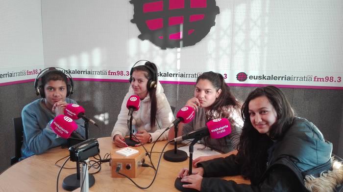 Flamenko hotsak Euskalerria Irratian