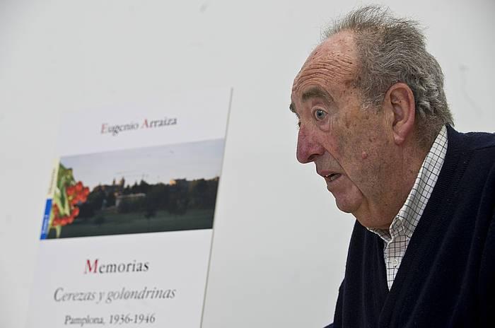 Eugenio Arraiza euskaltzale eta kultur eragile iruindarra hil da