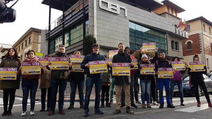 Borondatea eskatu diote patronalari ELA eta LAB sindikatuek
