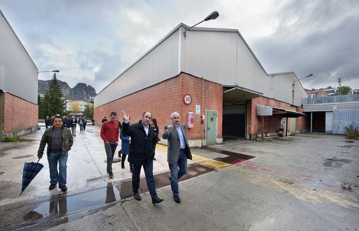 Irurtzungo INASA fabrika ohia eraldatzeko 7,8 milioi euroko inbertsioa eginen du Gobernuak