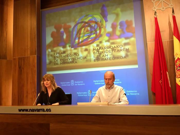 Nafarroako Gobernuak lehen Bizikidetza Plan Estrategikoa sortuko du datozen hilabeteetan