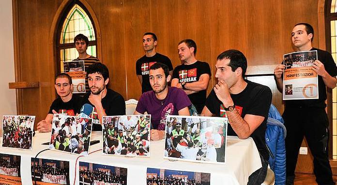 Hilaren 29an manifestazioa egingo dute 2010eko txupinazoko istiluengatik jarritako zigorren aurka