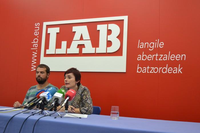 Nafarroako ordezkaritza sindikalaren %16ra iritsi da LAB