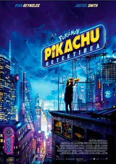 """""""Pokemon Pikachu detektibea"""" euskarazko pelikula, Golem La Morean"""