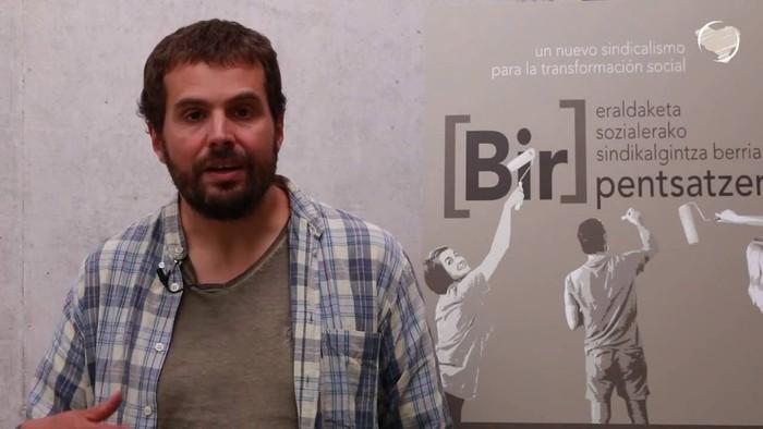 "Igor Arroyo: ""Inoiz baino indartsuago iritsi da LAB IX. Kongresura"""