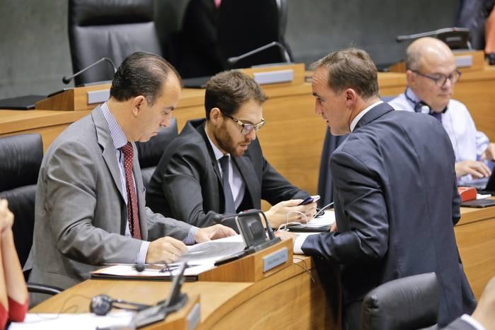 Sayas eta Adanero UPNren Kongresurako hautagaiak eta Catalan Senaturako
